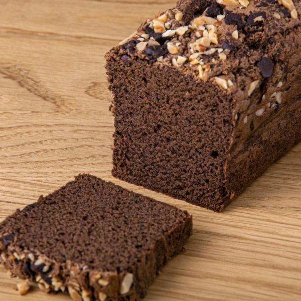 チョコレートパウンのドケーキ