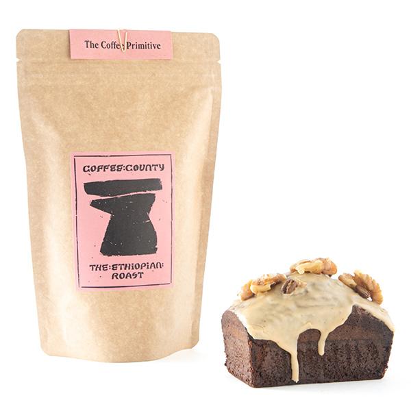 コーヒーとキャラメルパウンドケーキ COFFEE COUNTY